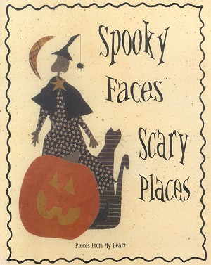 Spooky Faces, Scary Places
